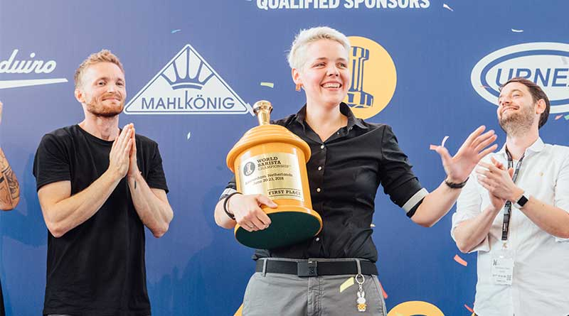 2018 Dünya Barista Şampiyonu Agnieszka Rojewska oldu!