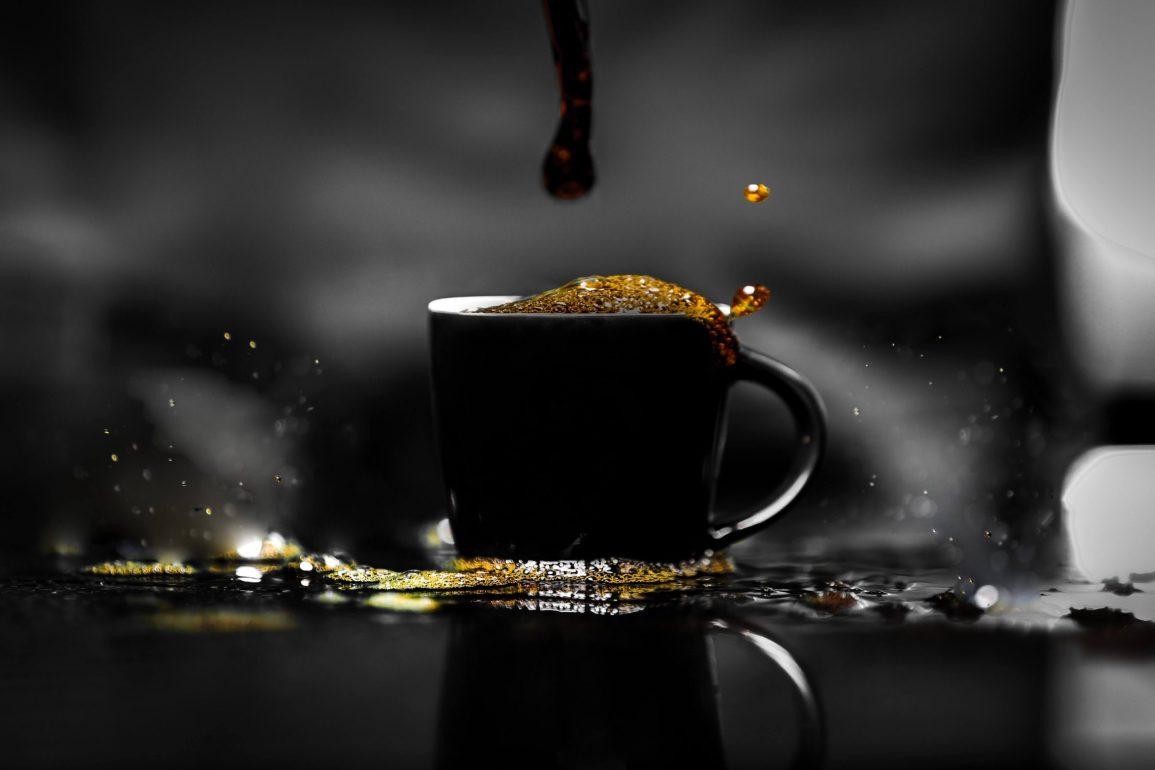 coffee black cup