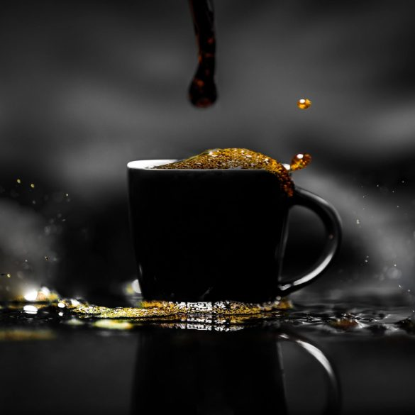 coffee black cup