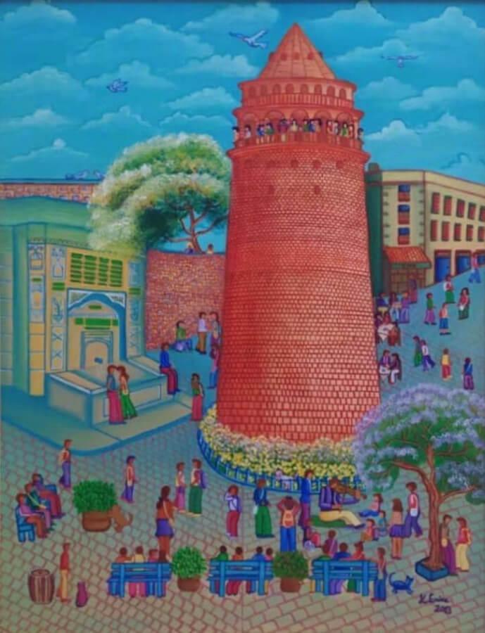 Galata kulesi, Kübra Enise Uçkan