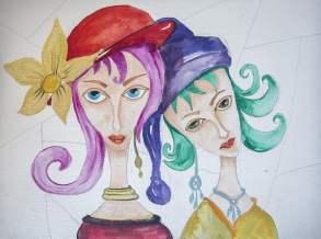Ayşe Marika Sağlam Painting
