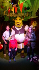at Shrek's Adventure, London
