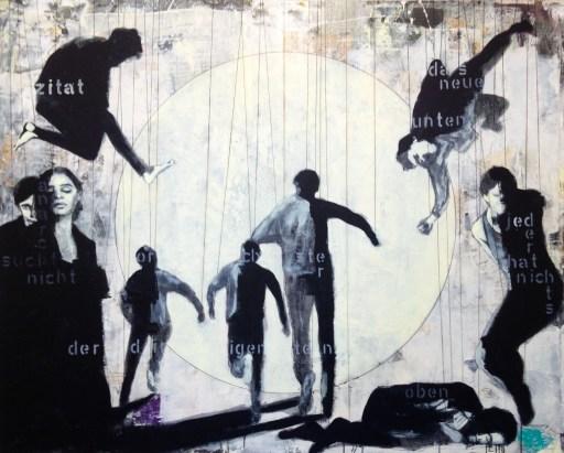 2016-Das-Orchester-der-Dirigenten-160-x-200-cm-Mischtechnik-auf-Leinwand