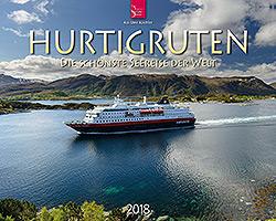 Kalender: Hurtigruten 2018 im Verlagshaus Würzburg