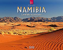 Kalender: Namibia 2018 im Verlagshaus Würzburg