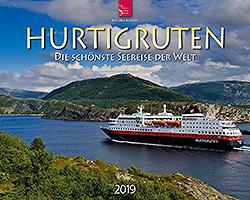 Kalender: Hurtigruten 2019 im Verlagshaus Würzburg