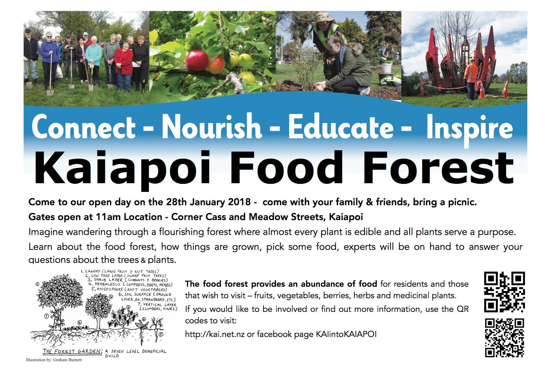 Kaiapoi Food Forest open day