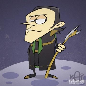 Loki Cartoon-kaicastle