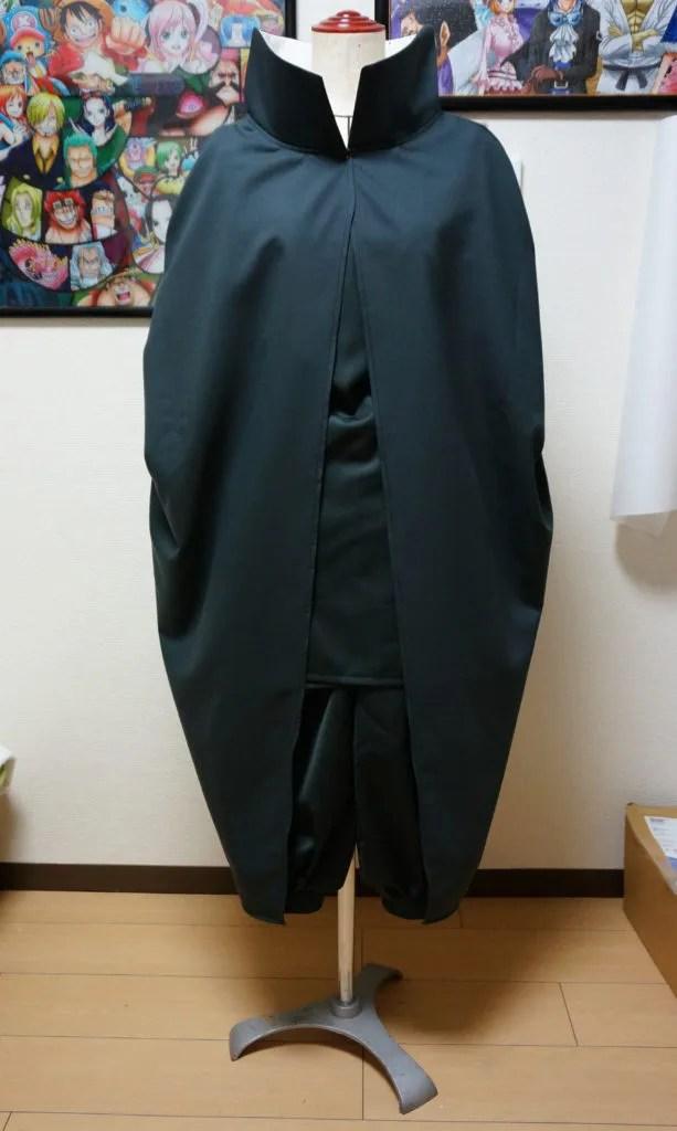 サスケ真伝のサスケの衣装完成