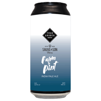Farm To Pint: Sauve & Son Farms IPA - FrauGruber Brewing