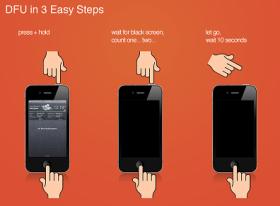 كيفية الدخول لوضع DFU على جهاز الآيفون، الآيبود و الآيباد