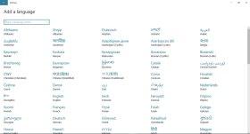 كيفية إضافة الكتابة باللغة العربية في ويندوز 10 Windows