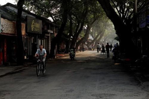 上海の街を散歩