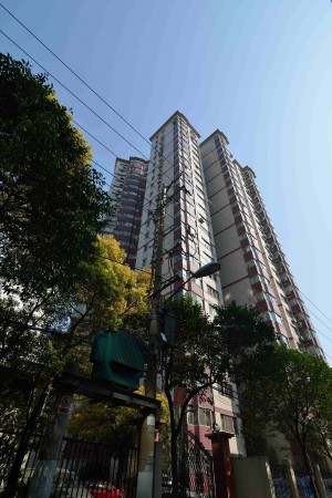 上海での海外生活、住処外観