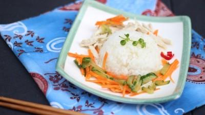 エクアドルの主食はお米