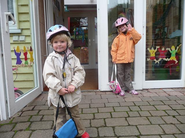 幼稚園、機嫌よく通ってくれる子供たち