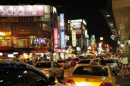 台湾、ナイトマーケット、士林夜市