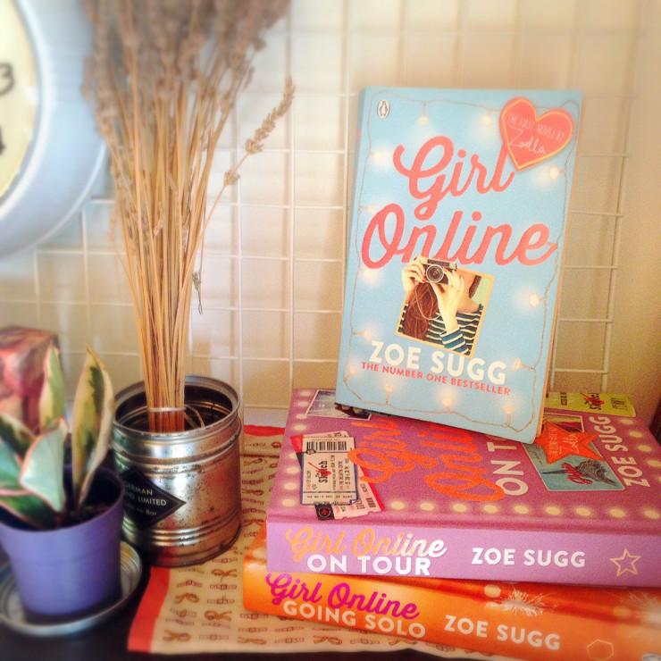 【洋書: Girl Online】<br>イギリスの人気ブロガーZoellaの小説が読みやすい!