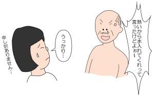 怒る高齢者