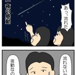 ペルセウス座流星群、毎年楽しみです。