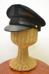 メッシュ制帽