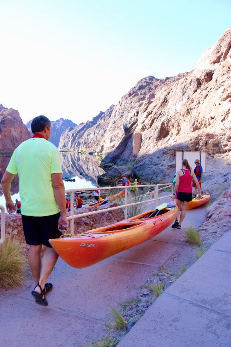 Kayaking the Black Canyon of the Colorado River: Hoover Dam to Willow Beach Marina