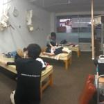金町南口整骨院での練習会【体のケアはありがたいです】