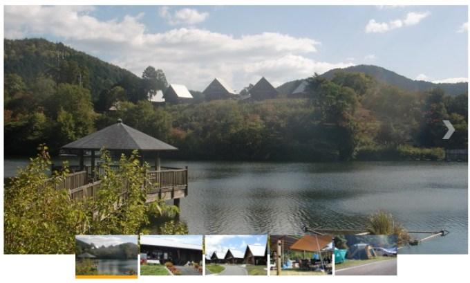 大正池グリーンパークの風景