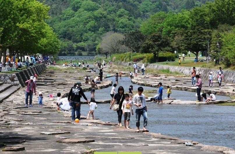 滋賀県希望が丘文化公園風景