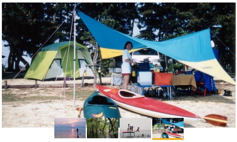 ビワコマリンスポーツオートキャンプ場の風景