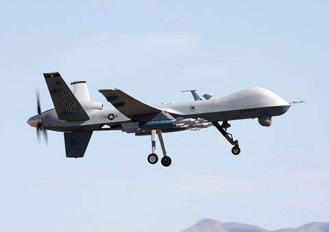 無人攻撃機MQ-9リーバ-