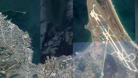 北朝鮮海軍元山基地