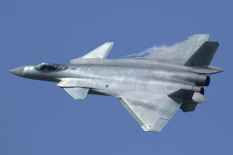 中国軍J-20戦闘機