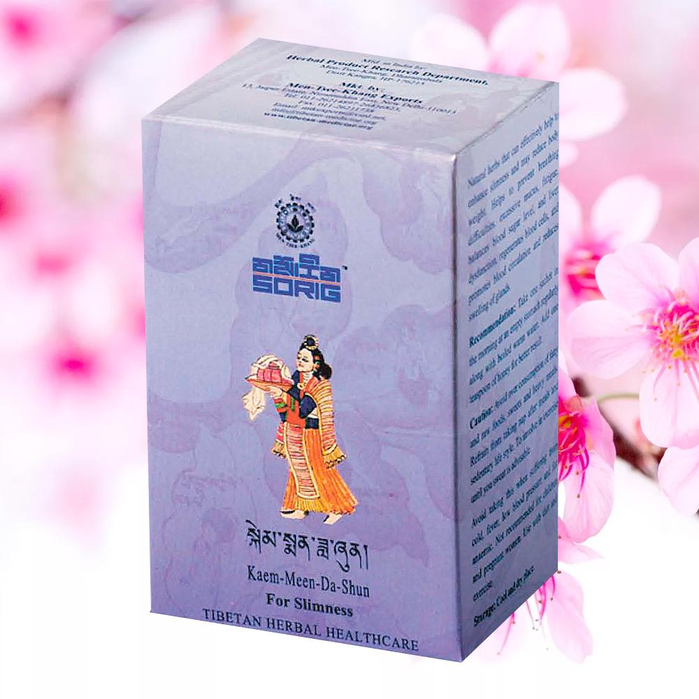 Тибетский чай для похудения Каем-Мин-Да-Шун, 45 г