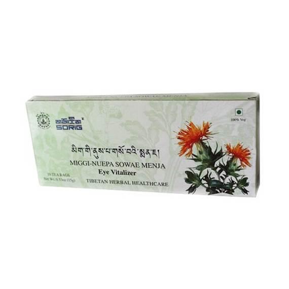 Тибетский Чай для Зрения. Miggi-Nuepa Sowae Menja, 25 g, Sorig