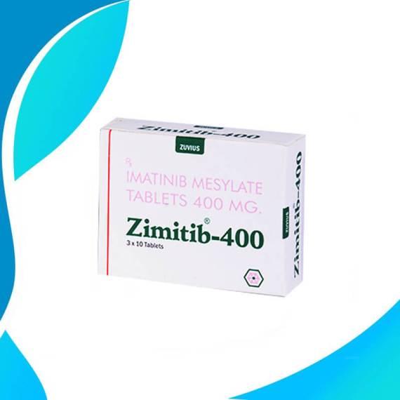 ZIMITIB 400MG 30TAB Иматиниб. Противоопухолевый препарат. Индия