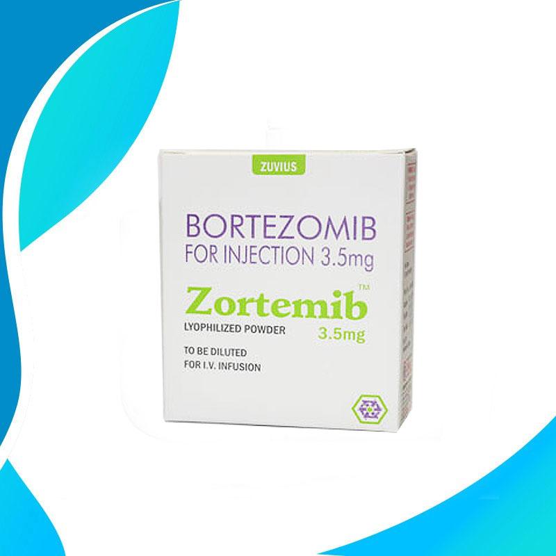ZORTEMIB 3.5 MG  Бортезомиб.  Противораковая терапия.  Индия