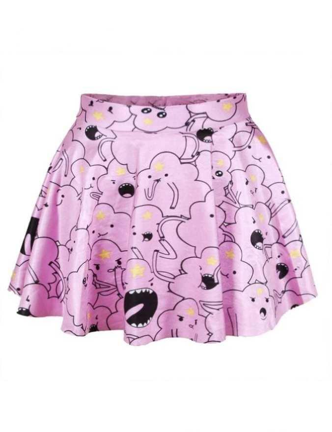 how-to-dress-like-a-japanese-girl-print-skirt