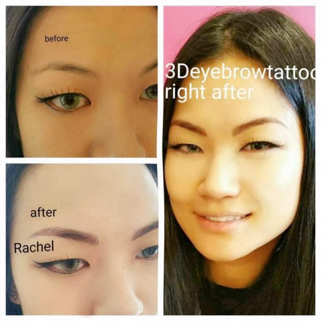eyebrow embroidery before and after 2