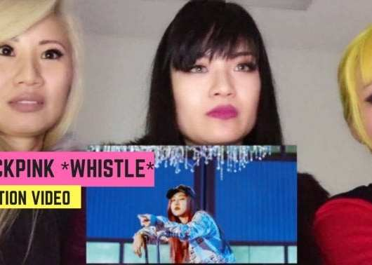 ff81a0279dc New Reaction Video  Blackpink Whistle  휘파람