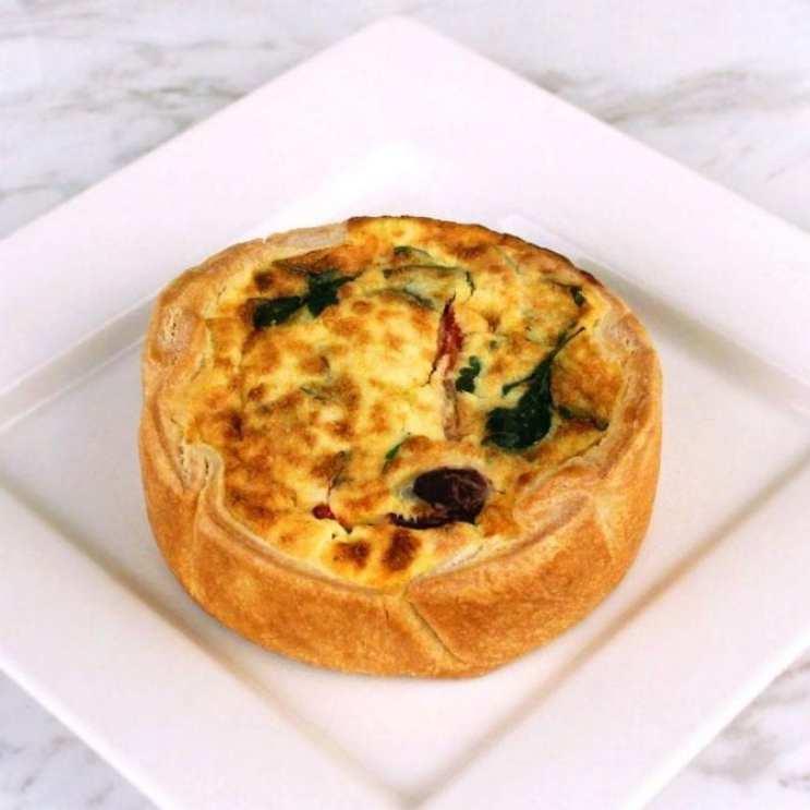 Milk and Eggs Kimchi - Bread Lounge Quiche Lorraine