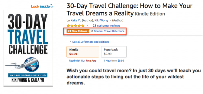 30 Day Travel Challenge