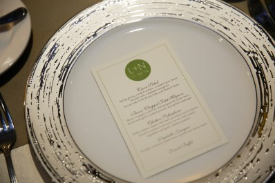 Modern Green Wedding Invitation