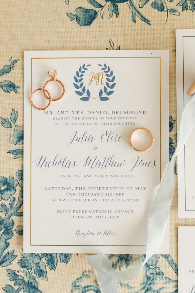 Nautical Wedding Invitation Stationery Design Blog