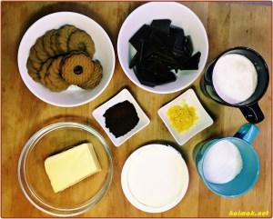 продукти за шоколадов тарт