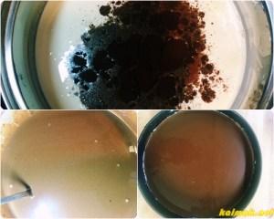 сметана с кафе