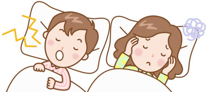 いびきは枕で防止できる?どんな枕がオススメ?