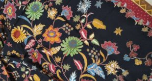 Produksi Kain Batik motif Khas Denpasar