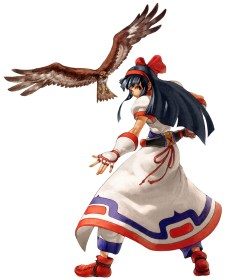 Nakoruru from Samurai Showdown
