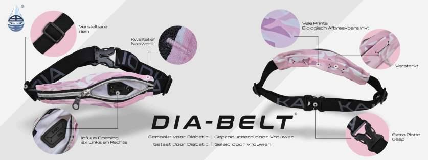 Dia-Belt heuptas voor insulinepomp